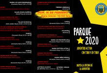 PROGRAMACIÓN OFICIAL PARQUE 2020