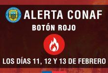 #ATENCIÓN | ALERTA CONAF BOTÓN ROJO PARA SAN VICENTE