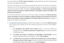MEDIDAS ECONÓMICAS DE PROTECCIÓN DE FAMILIAS Y PYMES POR COVID-19: BONO, CAPITALIZACIÓN BANCO ESTADO Y OTROS BENEFICIOS