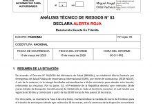 DIRECCIÓN NACIONAL DE ONEMI DECLARA ALERTA ROJA NACIONAL POR PANDEMIA CORONAVIRUS COVID-19