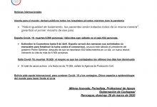 INFORME CORONAVIRUS COVID-19 DOMINGO 29 DE MARZO DE 2020