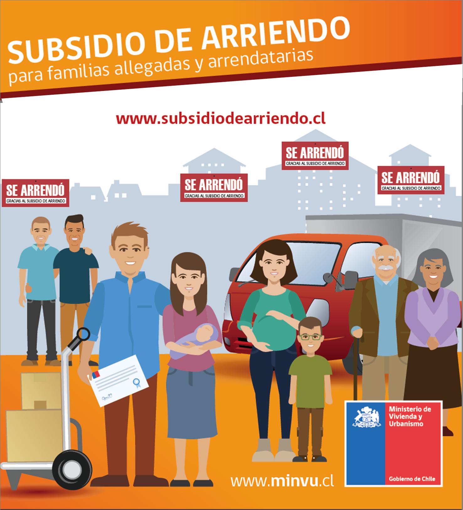 POSTULACIÓN SUBSIDIO DE ARRIENDO REGULAR 2020