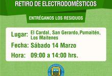 PROGRAMA MUNICIPAL DE RETIRO DE ELECTRODOMÉSTICOS EN DESUSO Y MATERIALES RECICLABLES 2020