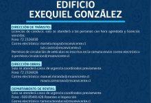 ACTUALIZAMOS FUNCIONAMIENTO DEL EDIFICIO MUNICIPAL DE CALLE EXEQUIEL GONZÁLEZ