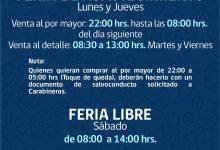 ACTUALIZACIÓN | FUNCIONAMIENTO FERIAS DE SAN VICENTE DURANTE CONTINGENCIA CORONAVIRUS COVID-19