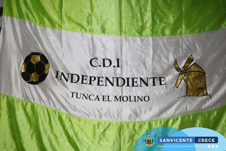 CEREMONIA DE INAUGURACIÓN DE TORRES DE ILUMINACIÓN CAMPO DEPORTIVO TUNCA EL MOLINO