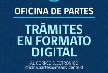 OFICINA DE PARTES: TRÁMITES EN FORMATO DIGITAL