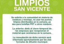 DEPARTAMENTO DE MEDIO AMBIENTE, ASEO Y ORNATO Y ÁREAS VERDES INFORMA CON RESPECTO A PUNTOS LIMPIOS