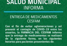 DEPARTAMENTO DE SALUD INFORMA | NOVEDADES CAMPAÑA DE VACUNACIÓN CONTRA LA INFLUENZA Y ENTREGA DE MEDICAMENTOS CESFAM