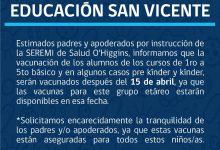CORPORACIÓN DE EDUCACIÓN MUNICIPAL INFORMA CON RESPECTO A VACUNACIÓN CONTRA LA INFLUENZA