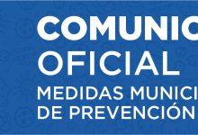 COMUNICADO OFICIAL MUNICIPALIDAD DE SAN VICENTE POR CORONAVIRUS COVID-19