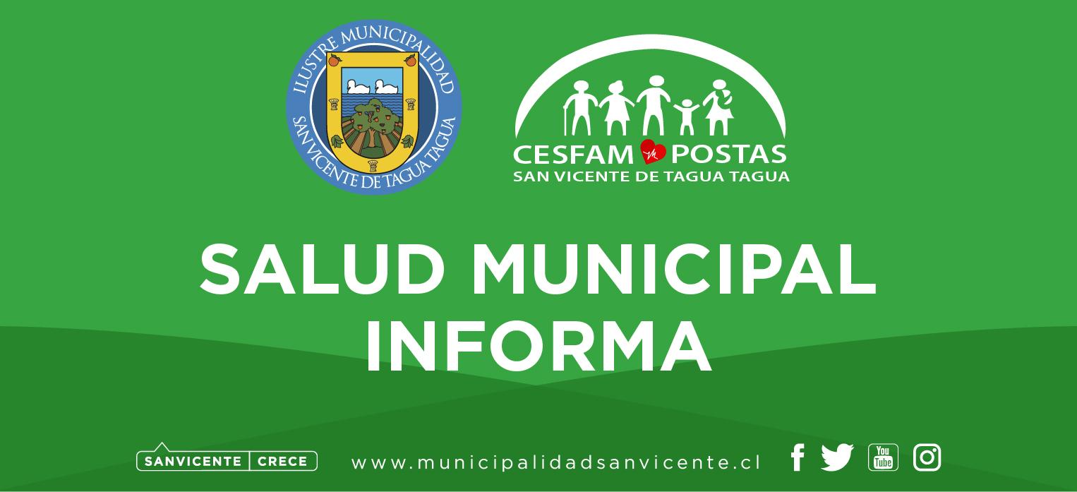 COMUNICADO SALUD MUNICIPAL CAMPAÑA DE VACUNACIÓN CONTRA INFLUENZA