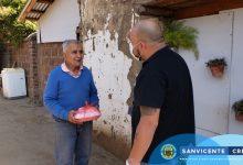 ADULTOS MAYORES DEL CENTRO ABIERTO RECIBEN ALIMENTACIÓN A DOMICILIO