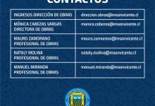 PROTOCOLO DE ATENCIÓN Y CONTACTOS DE LA DIRECCIÓN DE OBRAS EN CONTINGENCIA DE COVID-19