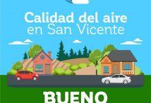 CALIDAD DEL AIRE EN SAN VICENTE DE TAGUA TAGUA JUEVES 9 DE ABRIL: BUENO