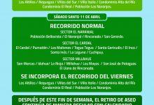 RECOLECCIÓN DE ASEO EN SEMANA SANTA