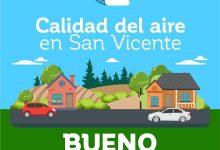CALIDAD DEL AIRE EN SAN VICENTE DE TAGUA TAGUA VIERNES 3 DE ABRIL: BUENO