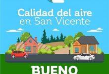CALIDAD DEL AIRE EN SAN VICENTE DE TAGUA TAGUA LUNES 20 DE ABRIL: BUENO