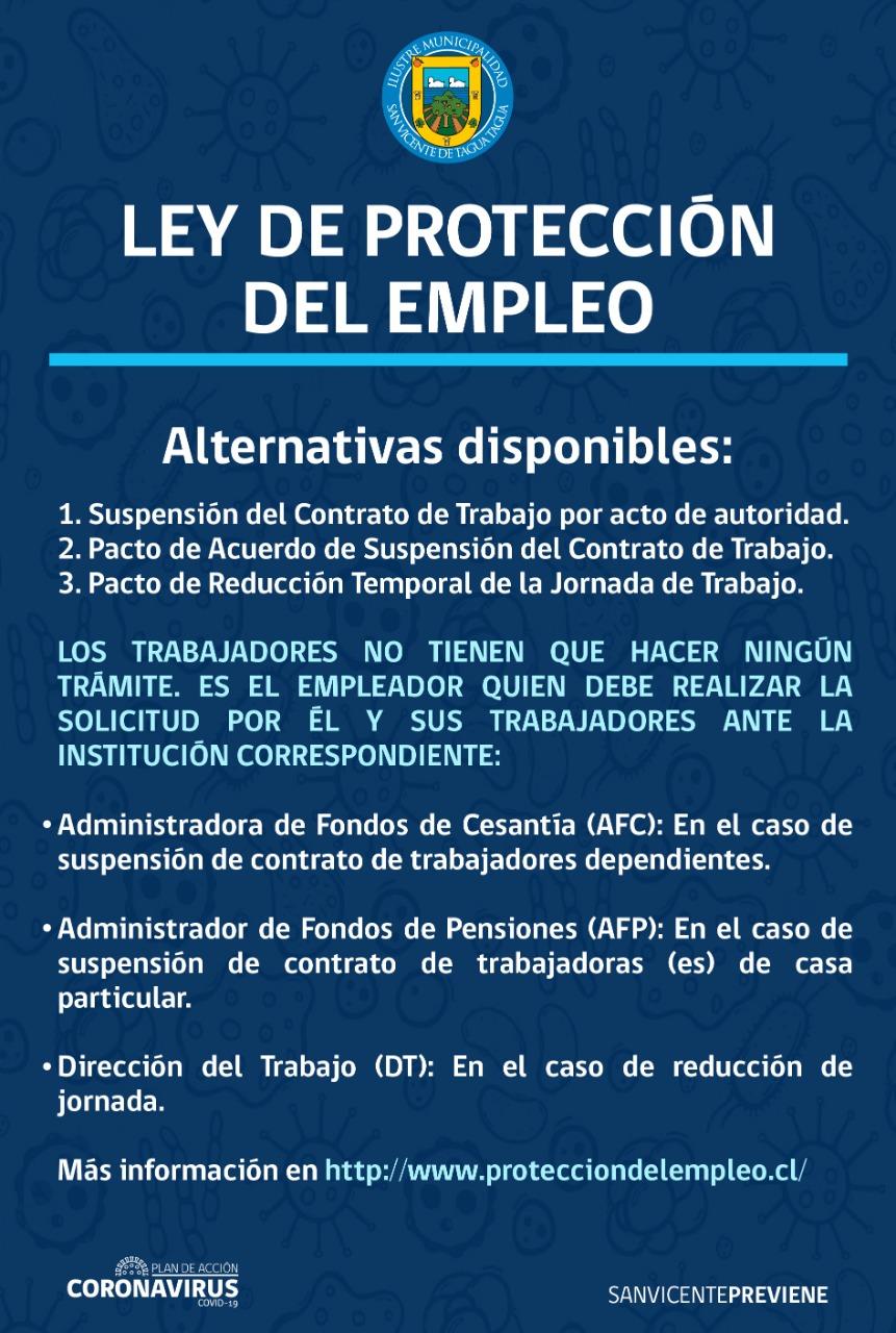 NUEVA LEY DE PROTECCIÓN DEL EMPLEO