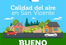 CALIDAD DEL AIRE EN SAN VICENTE DE TAGUA TAGUA VIERNES 15 DE MAYO: BUENO‼️