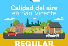 CALIDAD DEL AIRE EN SAN VICENTE DE TAGUA TAGUA VIERNES 22 DE MAYO: REGULAR‼️