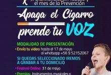 FESTIVAL APAGA EL CIGARRO PRENDE TU VOZ – VERSIÓN ONLINE‼️👨🎤👩🎤🎤🎬🎼🎞