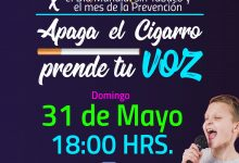 FESTIVAL APAGA EL CIGARRO PRENDE TU VOZ – TRANSMISIÓN ONLINE‼️👨🎤👩🎤🎤🎬🎼🎞