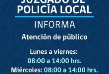 ATENCIÓN DE PÚBLICO JUZGADO DE POLICÍA LOCAL DE SAN VICENTE‼️