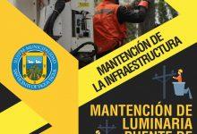 MANTENCIÓN DE LA INFRAESTRUCTURA | MANTENCIÓN LUMINARIAS PUENTE DE PEUMO