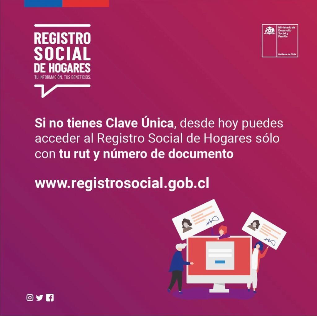 INGRESA A TU REGISTRO SOCIAL DE HOGARES SOLO CON TU CÉDULA DE IDENTIDAD‼️
