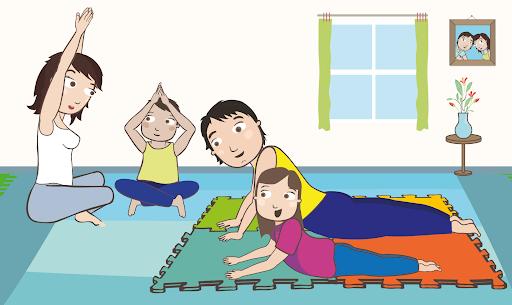 YOGA INFANTIL EN TIEMPOS DE PANDEMIA | POSTURAS Y RESPIRACIONES BÁSICAS‼️👦👩