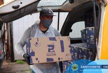 CONTINÚA LA ENTREGA DE CAJAS DE MERCADERÍA PROGRAMA ALIMENTOS PARA CHILE