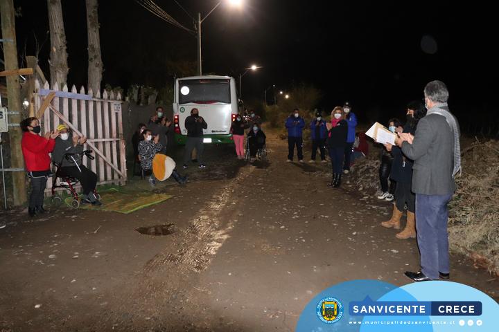 FAMILIAS DEL CALLEJÓN LA TERMO DE TOQUIHUA YA CUENTAN CON CONEXIÓN ELÉCTRICA DOMICILIARIA