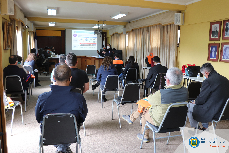 PRESENTAN PLAN DE PREVENCIÓN DE INCENDIOS FORESTALES EN REUNIÓN DE COMITÉ DE EMERGENCIAS COMUNAL